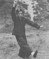 Kicking techniques of Lama Kung-Fu