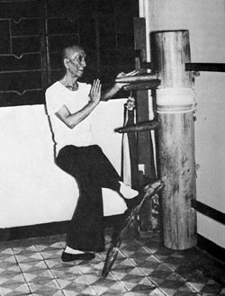 Yip Man and Wing Chun Wooden Dummy