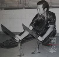 Lam Chun Fai Hung Ga Kuen Butterfly Knives